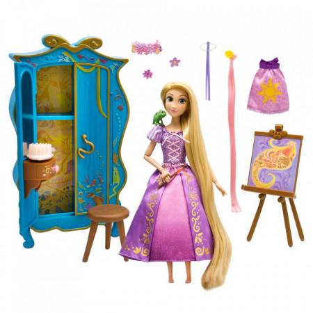 Papusa Rapunzel cu accesorii