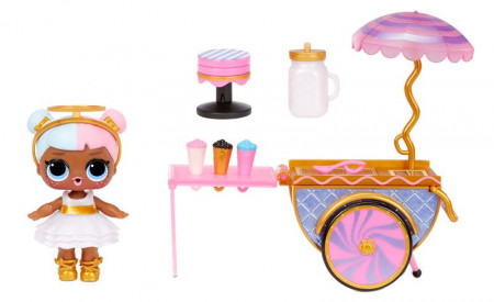 LOL Surprise! Mobilă pentru păpuși - Sweet Boardwalk & Sugar