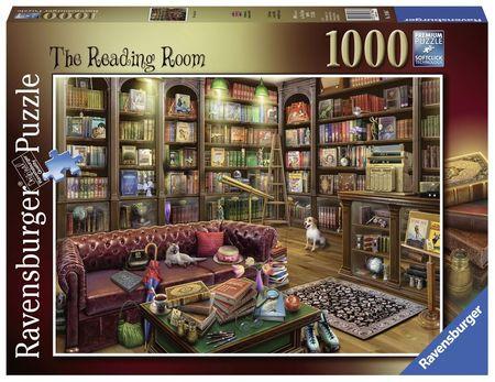 Puzzle Sala De Lectura, 1000 Piese