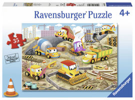 Puzzle santier in lucru, 35 piese