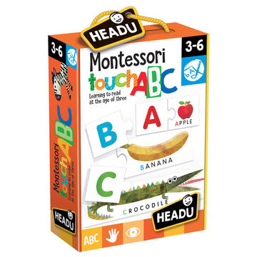 JOC TACTIL MONTESSORI ABC