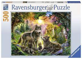 Puzzle Familia Lupilor, 500 piese