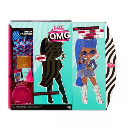 Poze Papusa L.O.L Surprise! O.M.G Fashion Doll - Miss Independent