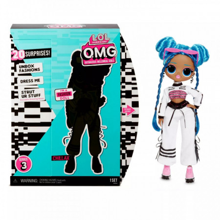 Papusa LOL Surprise! O.M.G Fashion Chillax