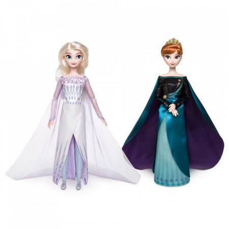 Poze Papusi Anna si Elsa Frozen 2