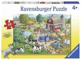 Puzzle ferma, 60 piese