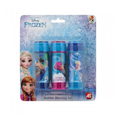 Set Frozen 3 Tuburi Baloane De Sapun