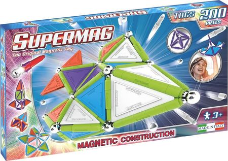 Supermag Tags Trendy - Set Constructie 200 Piese