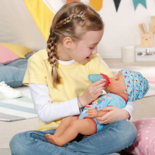 BABY born - Bebelus baiat cu suzeta magica 43cm