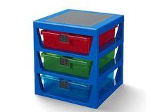 Cutie depozitare LEGO cu trei sertare (40950002)