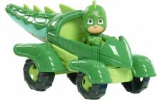 Figurina Sopi + vehicolul Sopi Mobil Seria 2 - Eroi in Pijama