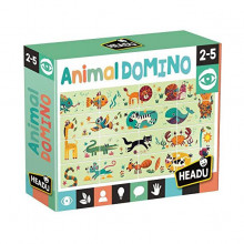 PUZZLE DOMINO ANIMALE