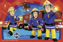 Puzzle Pompier Sam Cuburi, 6 Piese