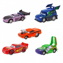 Set Masinute Lightning McQueen si Road Delinquents - Cars