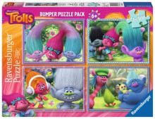 Puzzle Trolls, 4X100 Piese