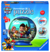 PUZZLE 3D PAW PATROL, 72 PIESE