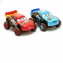Set 2 Masinute Lightning McQueen si Brick Yardley