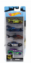 Set 5 Masini Hot Wheels Batman