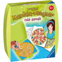 SET DE CREATIE MINI MANDALA CU ANIMALE