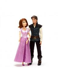 Set Papusi Rapunzel si Flynn Rider