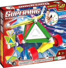 Supermag Tags Wheels - Set Constructie 50 Piese