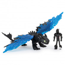 DRAGONS3 SET DRAGON STIRBUL CU FIGURINA HICCUP