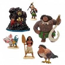 Set 6 Figurine Vaiana