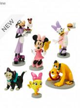 Set figurine Minnie si ajutoarele abile