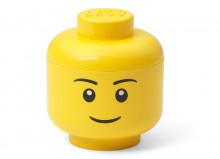 Mini cutie depozitare cap minifigurina LEGO baiat (40331724)