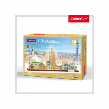 PUZZLE 3D BARCELONA 186 PIESE
