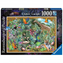 PUZZLE IN SALBATICIE, 1000 PIESE