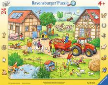 Puzzle mica mea ferma, 24 piese