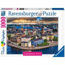 PUZZLE STOCKHOLM SUEDIA, 1000 PIESE