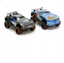 Set 2 Masinute Lightning McQueen and Jackson Storm