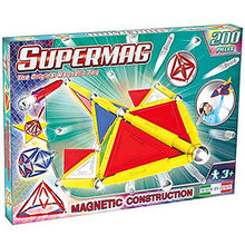SUPERMAG TAGS PRIMARY - SET CONSTRUCTIE 200 PIESE