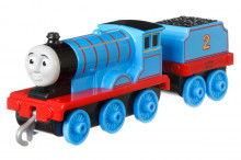 Thomas Locomotiva Cu Vagon Push Along Edward