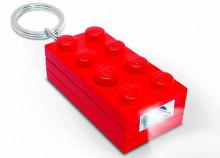 Breloc cu lanterna LEGO caramida rosie (LGL-KE5-R)