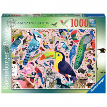 PUZZLE PASARILE LUI MATT SEWELL, 1000 PIESE