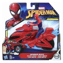 SPIDERMAN FIGURINA CU MOTOCICLETA