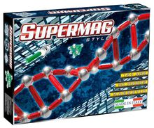 SUPERMAG STYLE - SET CONSTRUCTIE 50 PIESE
