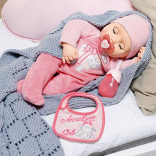 Baby Annabell - Papusa interactiva corp moale, 43 cm