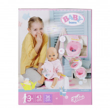BABY born - Toaleta cu efecte sonore