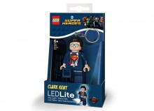 Breloc cu LED LEGO Super Heroes Clark Kent