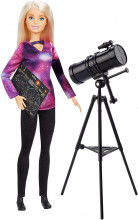 Papusa Barbie National Geographic Astrofizician