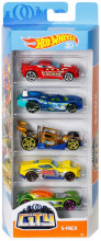 Set 5 Masini Hot Wheels City