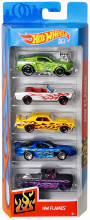 Set 5 Masini Hot Wheels Flames
