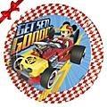 Farfurii petrecere Mickey Roadster Racers
