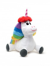 Jucarie Plus Rainbow Unicorn Medium - Inside Out