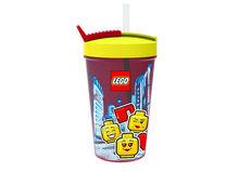Pahar LEGO Iconic cu pai (40441725)