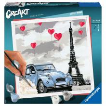 PICTURA PE NUMERE - PARIS